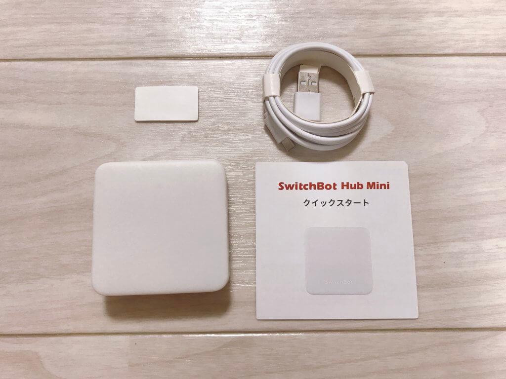 Switch Bot Hub miniの開封画像