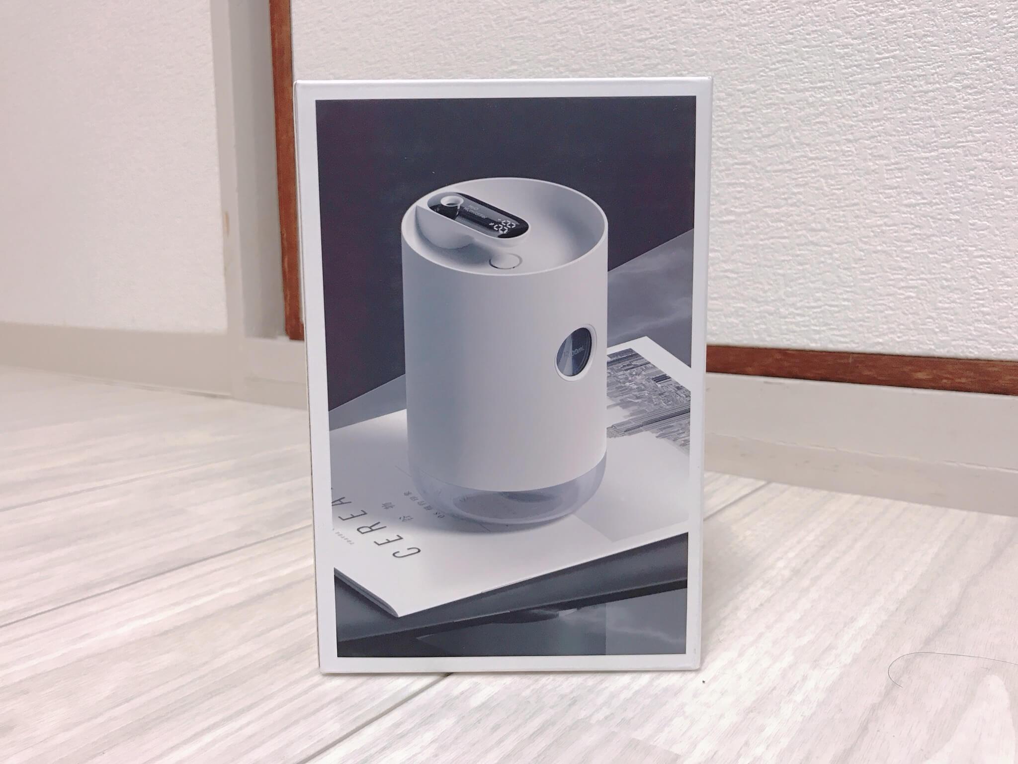 Bosiwo加湿器の箱の写真