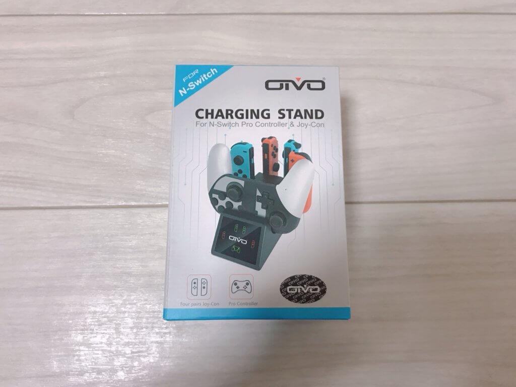 OIVOジョイコン充電スタンドのアイキャッチ画像